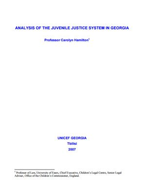 an analysis of gender in the juvenile justice system Gender bias and juvenile justice revisited: a multiyear analysis gender bias in the juvenile justice system: gender bias and juvenile justice revisited.