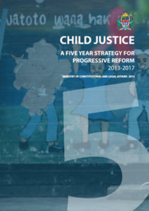 Child Justice: A Five Year Strategy for Progressive Reform 2013-2017