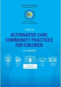 Study on alternative care community practices for children in Cambodia, including pagoda based care