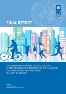 Gap Analysis of Ukrainian Youth Legislation