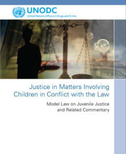 Justice in Matters Involving Children in Conflict with the Law: Model Law on Juvenile Justice and Related Commentary