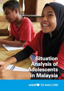 Situation Analysis of Adolescents in Malaysia