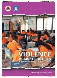 Study on Violence Against Children in and around Educational Settings in Timor-Leste
