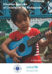 Situation Analysis of Children in the Philippines