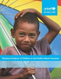 Situation Analyses of Children in the Pacific Island Countries